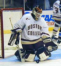 Boston College's Scott Clemmensen was a part of some of Dave Hendrickson's top Frozen Four memories.