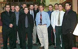 The class of 2000-2001 Division III All-Americas