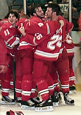 Plattsburgh State claimed the 2001 Division III championship.