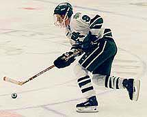 Jason Ulmer, a member of the 1997 championship team, has played this season for Quad City (UHL) and Hershey (AHL).