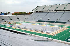 Can another outdoor game really match what Michigan State and Michigan did in 2001?