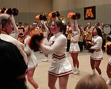 Minnesota's Saturday pep rally (photo: Ed Trefzger)