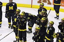 Michigan was defeated, 3-2, by Minnesota in Thursday's NCAA semifinal (photo: Pedro Cancel)