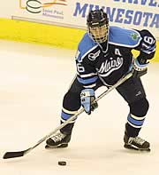 Martin Kariya and Maine are back after reaching the NCAA title game last season (photo: Pedro Cancel).