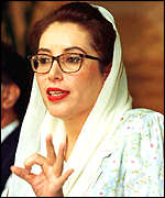 Benazir Bhutto led the nation of Pakistan, and made cakes for Joe Bertagna.