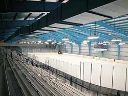 The 2,500-seat Boss Arena opened its doors at the University of Rhode Island last week. (photo by Nora Lewis)