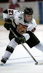 CC's Peter Sejna leads the nation in scoring. (photo: WCHA)