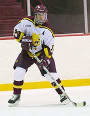 FSU's Chris Kunitz was an All-CCHA first-teamer for the second time (photo: Christopher Brian Dudek).