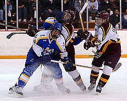 LSSU looks to return to its glory years, but for now, more modest goals are in mind (photo: Christopher Brian Dudek).