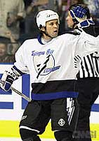 Vermont graduate Martin St. Louis is Lightning it up in the NHL.