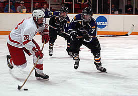Shane Hynes helped Cornell into the regional final (photo: Talya Arbisser).