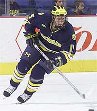 The Wolverines' Jeff Tambelli is back after a tough sophomore year (photo: Thomas Wolf).