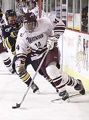Mauldin was second on UMass with 15 goals this season, despite missing eight games. (photo: James Schaffer)