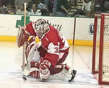Bernd Bruckler and the Badgers will wait until Sunday to learn their fate (photo: Patrick C. Miller).