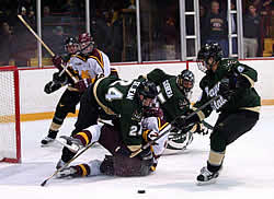 Wayne State battled its way into the NCAA tournament last year (photo: Christopher Brian Dudek).