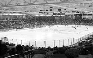 Towse Rink at New Hampshire's Whittemore Center is an Olympic-sized surface.