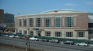 An exterior view of Agganis Arena as it stands today. (photo: Scott Weighart)