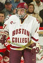 Tony Voce of BC is a Hobey Baker finalist this season.