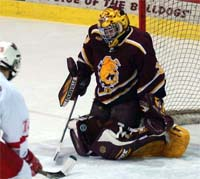 Mike Brown must return to form for Ferris State to avoid a 2003-04 repeat (photo: Christopher Brian Dudek).