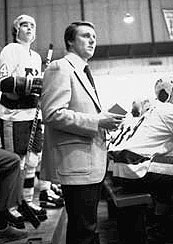 Herb Brooks won three national titles with the Golden Gophers before coaching the 1980 gold medal team. He later coached in the NHL. (photo: University of Minn.)