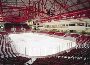 Magness Arena, built in 1997, now houses the Pioneer program.