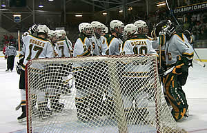 St. Norbert ended a streak of preliminary round losses to advance. (Photo by Chris Lerch)