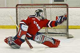 Justin Simmons makes the glove save.