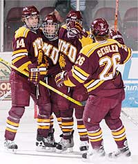 It has taken four years, but Minnesota-Duluth coach Scott Sandelin is ready to bring the Bulldogs back to the national stage.