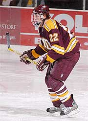 Junior Lessard is expected to be named a Hobey Baker Award finalist.