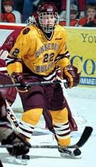 Junior Lessard of UMD is the USCHO.com Player of the Year.