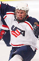 Zach Parise led the way with five goals and 11 points as Team USA won the gold medal at the World Juniors. Parise was named tournament MVP.