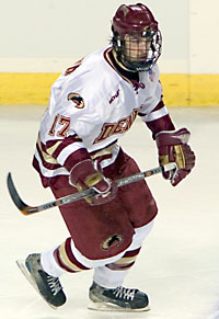 DU's Luke Fulghum may be the WCHA's most underrated player (photo: Melissa Wade).