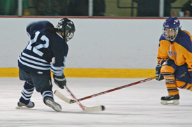 Emily Quizon scored two goals, including the game winner, for Middlebury.