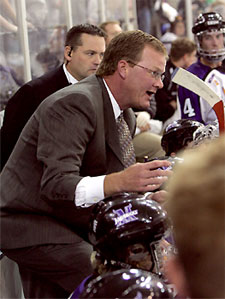 Troy Jutting is the reigning WCHA Coach of the Year.