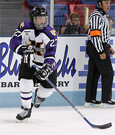 Maverick co-captain Travis Morin has quietly put up numbers to rival the NCAA's best.