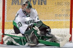 Senior Jake Brandt knows he plays an important role on the Sioux (photo:  Scott Gaddini)