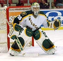NMU's Tuomas Tarkki became the first European to win CCHA Player of the Year honors.