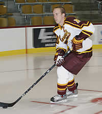 The Cadets' new all-time goals leader, Kurtis McLean, leads his team toward another ECAC East title.