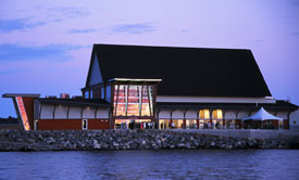 The Bobby Orr Hall of Fame in Parry Sound, Ontario.