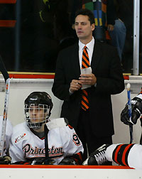 Guy Gadowsky's Princeton Tigers are 3-0-0 so far (photo: Princeton sports information).