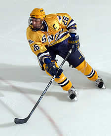 SNHU Senior Pat Doherty leads the nation with 17 goals in just 14 games
