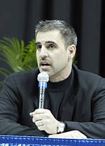 CCHA commissioner Tom Anastos is a prime mover behind Ford Field's interest in the Frozen Four (photo: Melissa Wade).