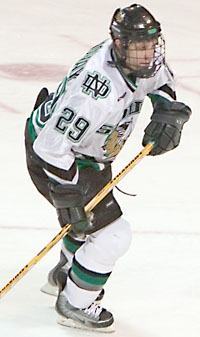 Colby Genoway has stepped up to spark the Sioux this season (photo: Melissa Wade).