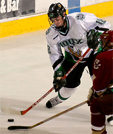 Drew Stafford is a likely high first-round pick in this weekend's NHL Draft. (photo: North Dakota/Scott Gaddini)