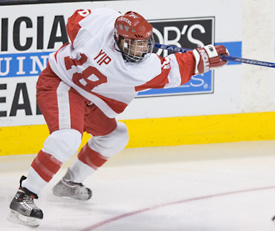 Brandon Yip was the 2005-06 Hockey East Rookie of the Year (photo: Melissa Wade).