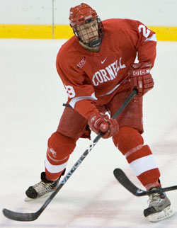 Byron Bitz will be needed more than ever this season at Cornell (photo: Melissa Wade).