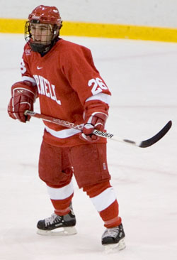 Topher Scott is among the returning offensive threats for Cornell (photo: Melissa Wade).