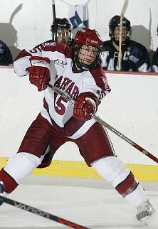 Tom Walsh is one of two ECACHL nominees for the Walter Brown Award (photo: David Silverman).