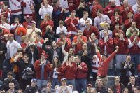 The Wisconsin faithful showed the world what it was all about: sportsmanship (photo: Melissa Wade).