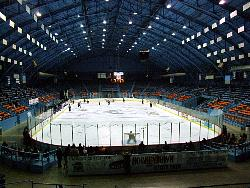 The Michigan State Fairgrounds Coliseum will host the CHA championship this weekend (photo: Matt Mackinder).